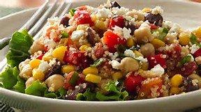 Quinoa salad trick!