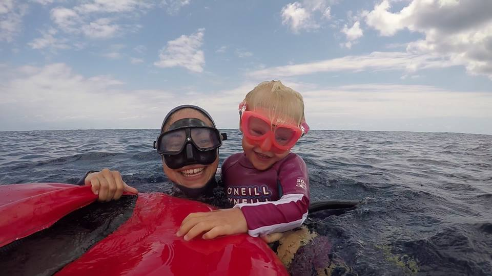 Freediving baby training