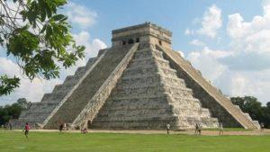 Mayan ruin in Cancun, Mexico.