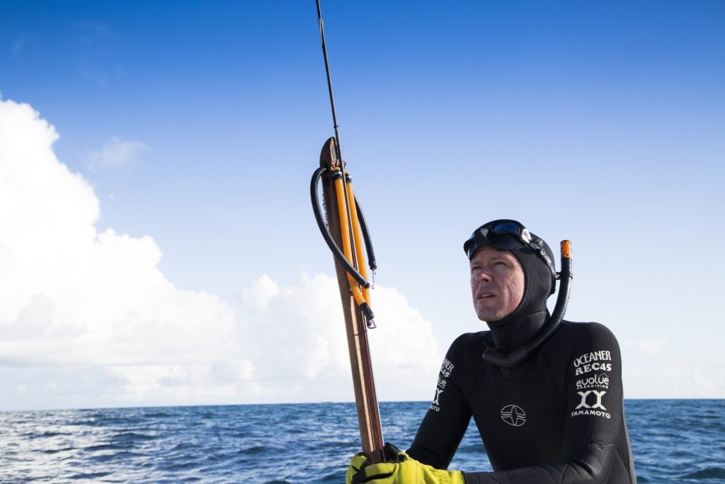Ren Chapman best freediving instructor speargun spearfishing
